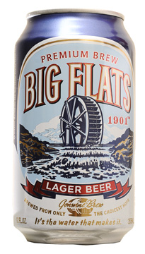 Beer review - Big Flats 1901 lager