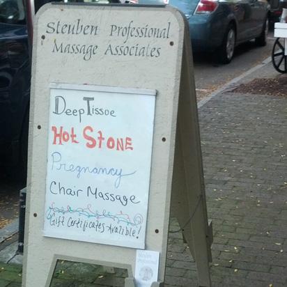 Deep tissue hot stone pregnancy