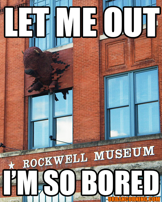 The Rockwell Museum: Not Boring!