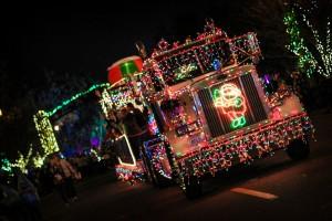 Corning Light Parade