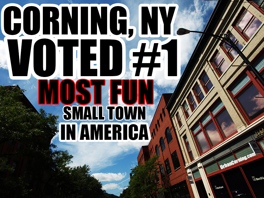 corning ny voted the most fun small town in america