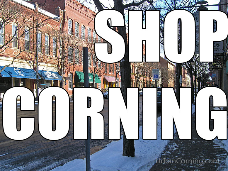 Top 5 Reasons to Shop in Corning for the Holidays
