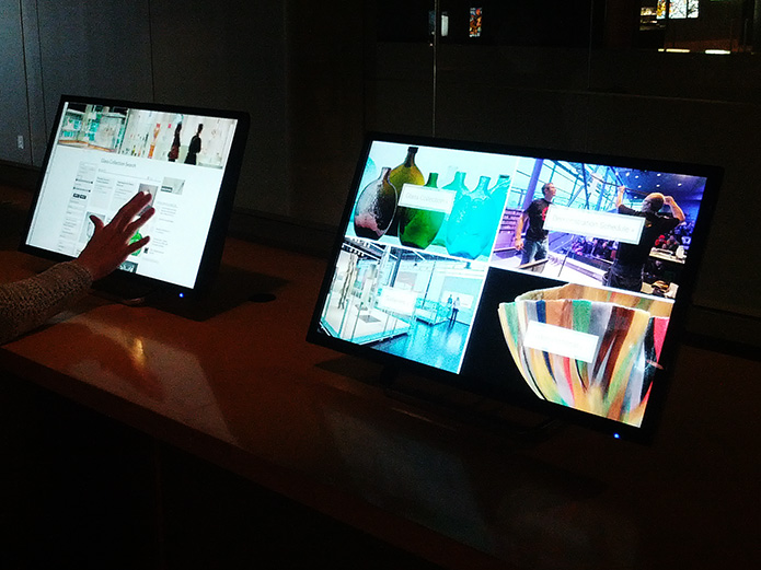 CMoG Touch Screen