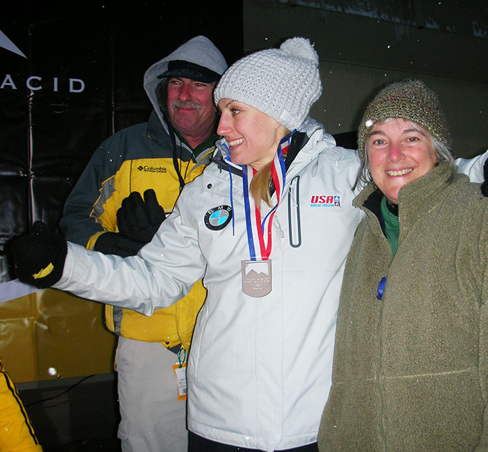 Corning Family Member in Olympics