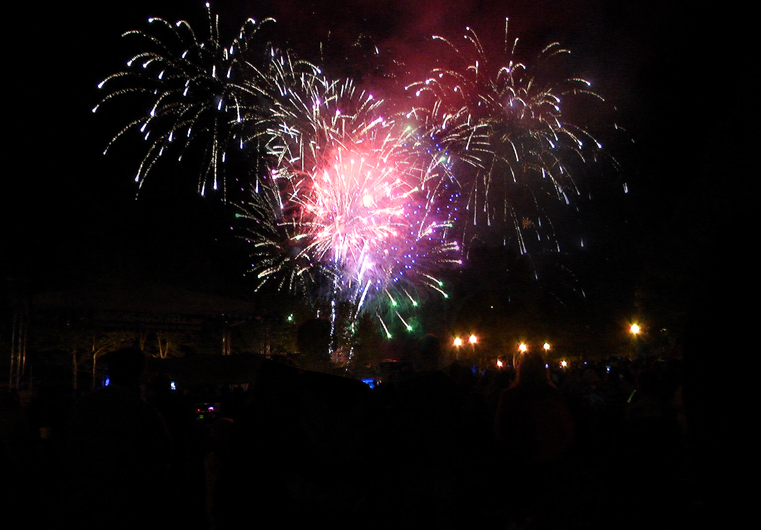 4th of July Fireworks in Corning's Riverfront Centennial Park