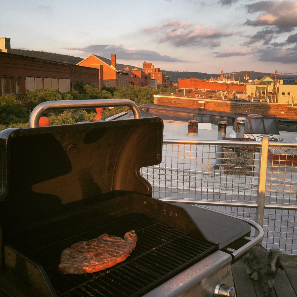 rooftop grilling
