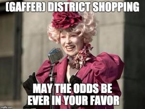 Hunger Games Shopping Meme