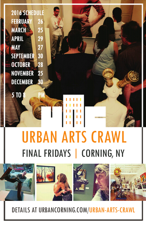 Urban Arts Crawl Schedule