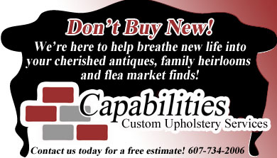 Capabilities Custom Upholstery Services