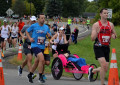 running in Corning - Wineglass Marathon