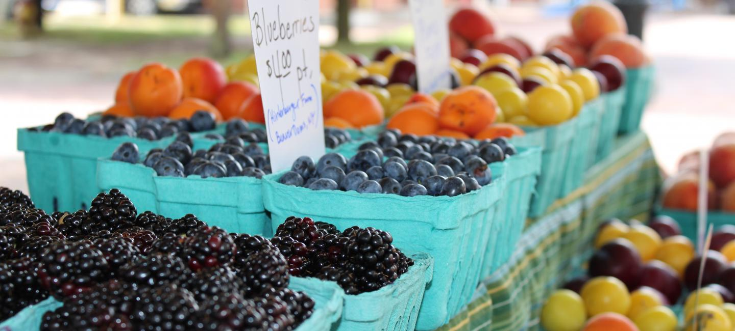 Finding Community At The Farmers Market